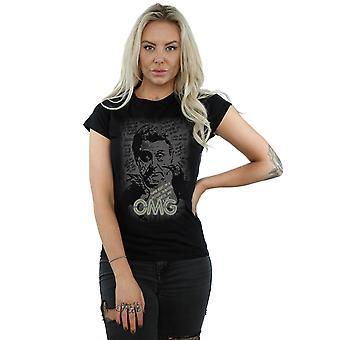 Amerikanske guder kvinders hr. onsdag OMG T-Shirt