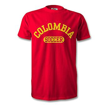 Colombia Soccer Kids T-Shirt