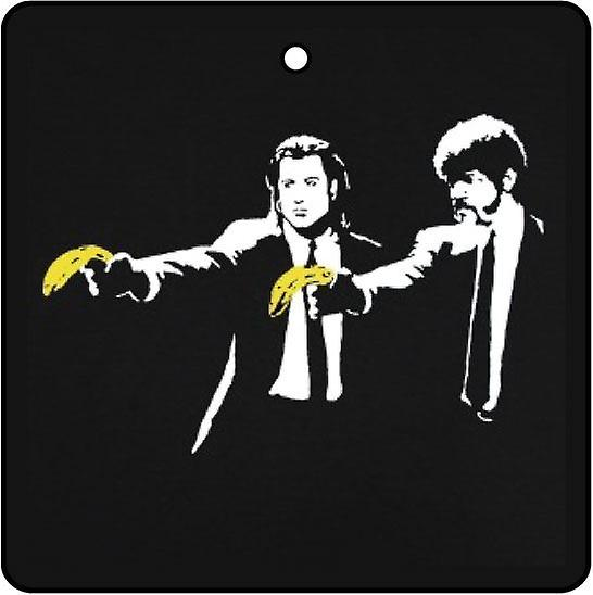 Banksy Pulp Fiction bananer bil Air Freshener