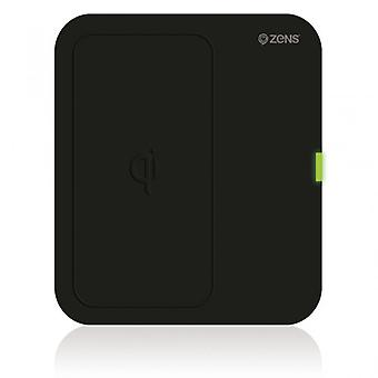 ZEN Charger QI wireless 220V connection Rectangular Black