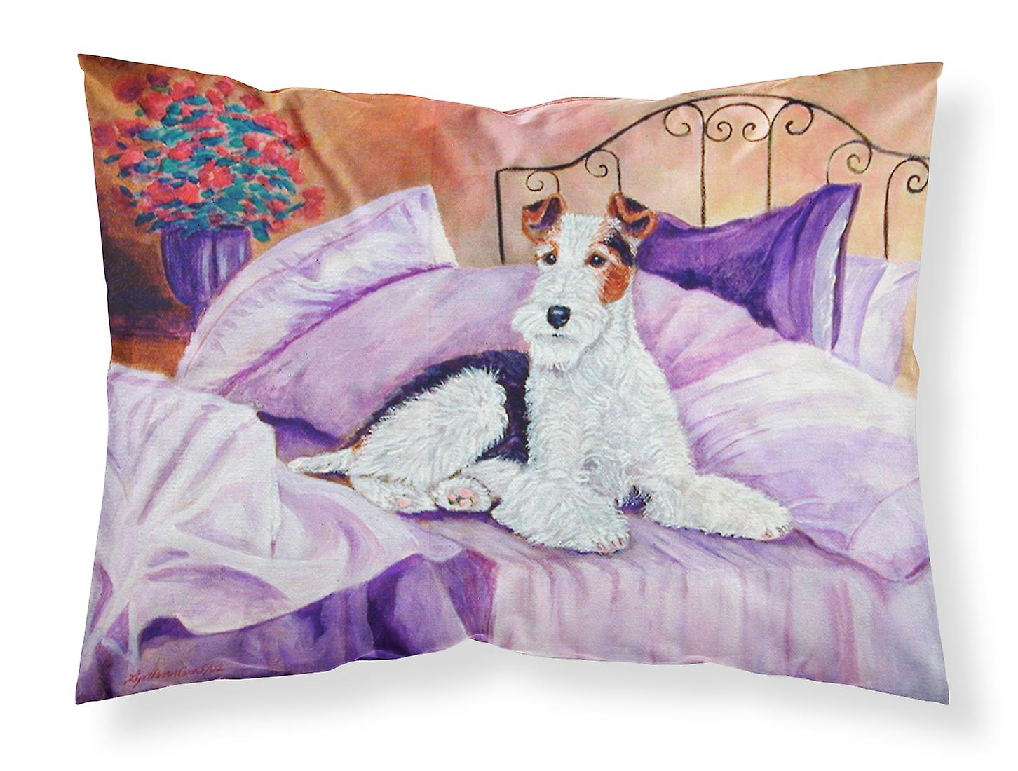 En Humidité D'oreiller Fox Standard Taie Tissu Attente Mom Sur Terrier Wicking PXiZOku