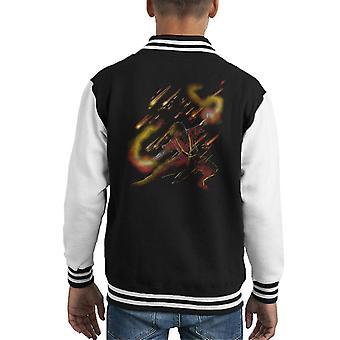 Fire Dancer Zuko Avatar The Last Airbender Kid's Varsity Jacket