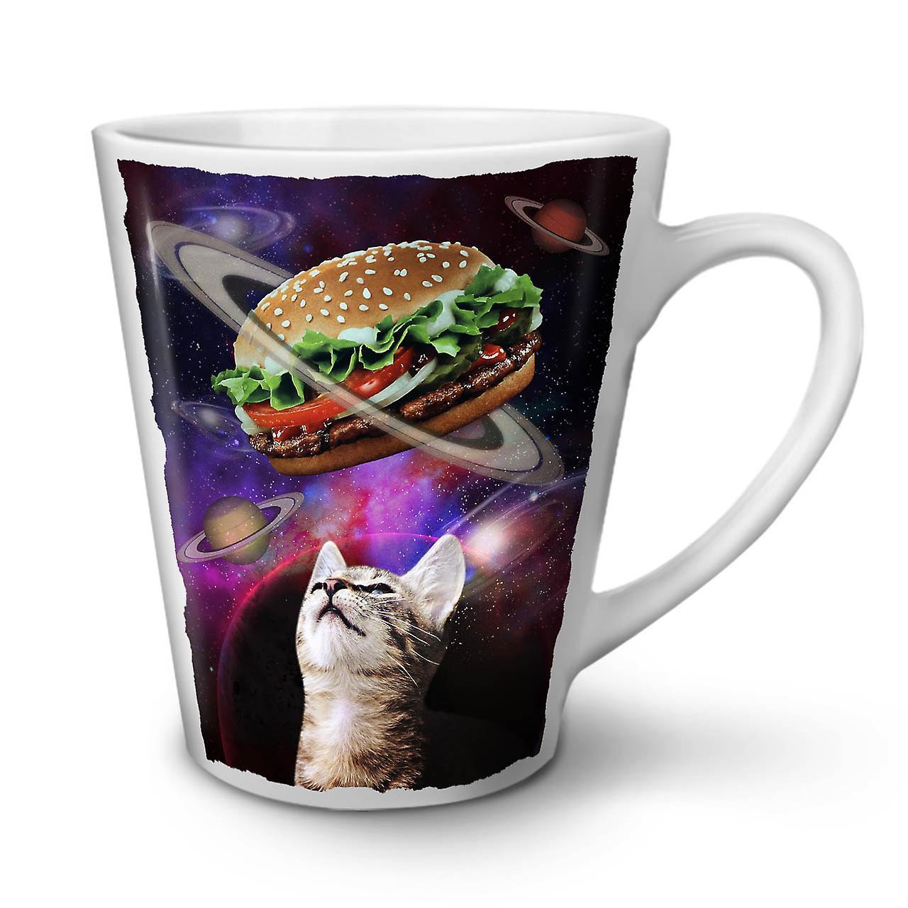 Chat Fun Céramique Burger Tasse Blanche 12 Café OzWellcoda Nouvelle Space En Latte xdCoEBrWQe