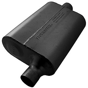 Flowmaster 942041 40 Delta Flow Muffler - 2.00 Offset IN / 2.00 Center OUT - Aggressive Sound