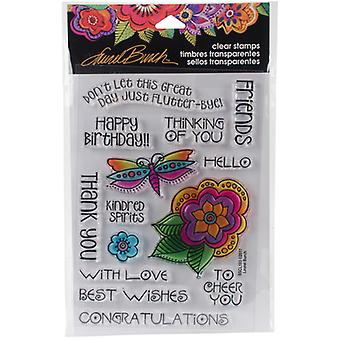 Stampendous Laurel Burch Clear Stamps 7,25
