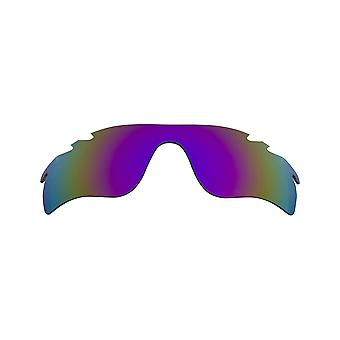 Best SEEK Replacement Lenses - Oakley VENTED RADAR LOCK Grey Purple Mirror