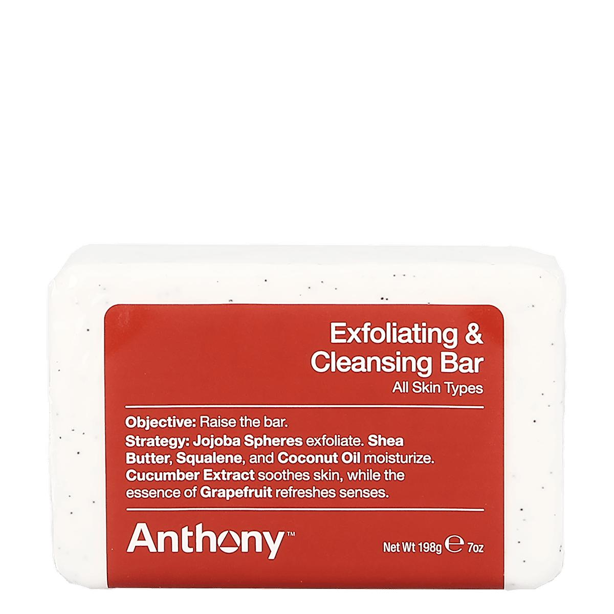 Anthony Exfoliating & Cleansing Bar 198g