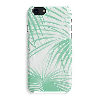 iPhone 7 Full Print Case (Glossy) - Palm leaves