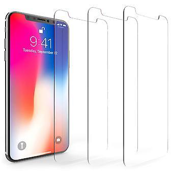 iPhone protectores de pantalla de X - Pack 3