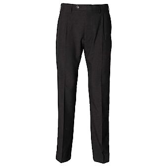Henbury Mens Polyester Single Pleat Casual Trousers