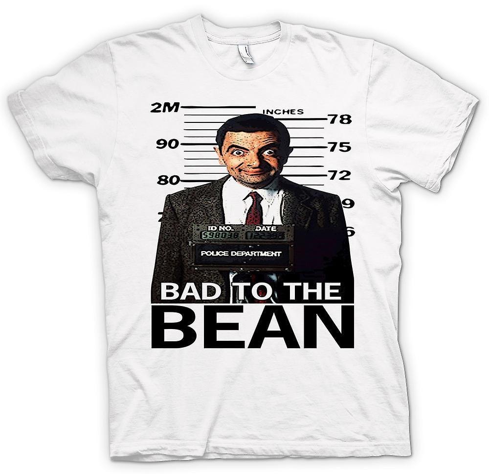Mens t-skjorte - Mr Bean Bad til bønne krus skudd - komedie