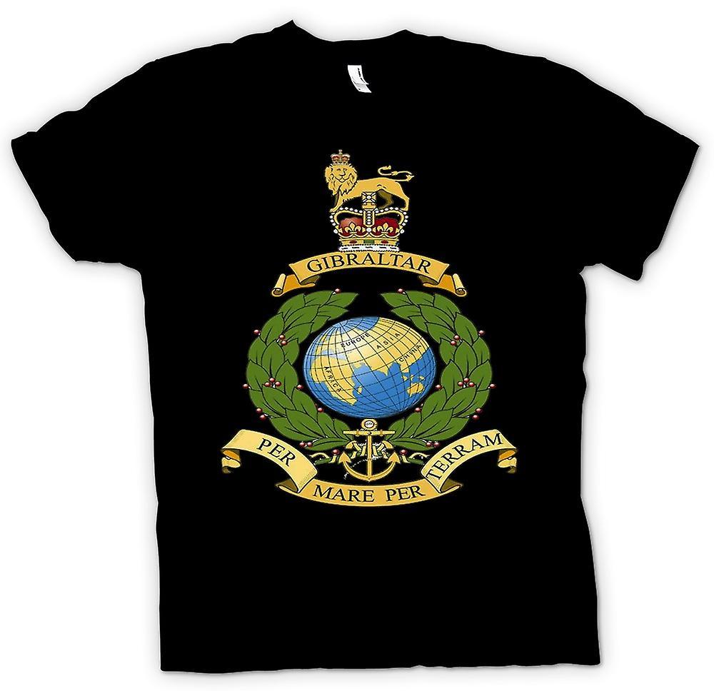 Heren T-shirt - Koninklijke Marine Logo - Per Mare Per Terram