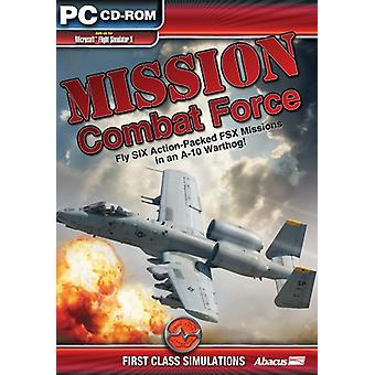 Mission bekæmpe kraft (PC CD)