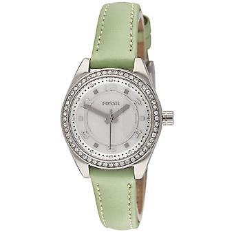 Fossil watch ladies silver