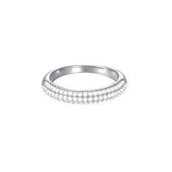 Esprit Damen Ring Edelstahl Silber Glam ESRG02765A1