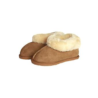 Eastern Counties Leather Childrens/Kids Sheepskin Lined Boot Slippers