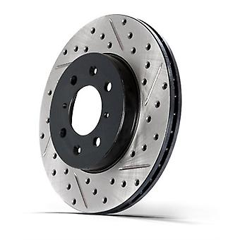 StopTech 127.33121R Sport Drilled and Slotted Rotor (Right)