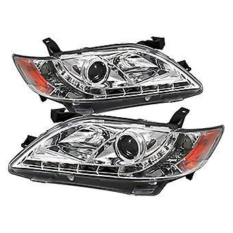 Spyder Auto PRO-YD-TCAM07-DRL-C Toyota Camry Chrome DRL LED Projector koplamp