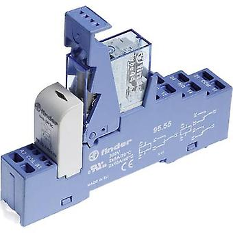 Finder 48.82.7.024.4050 Relay component 1 pc(s) Nominal voltage: 24 Vdc Switching current (max.): 10 A 2 change-overs