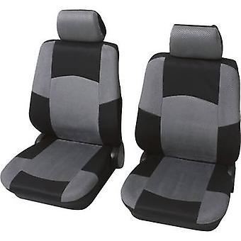 Petex Universal Car seat cover set Black, Grey