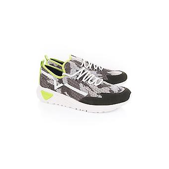 Diesel Camo Knitted Trainer