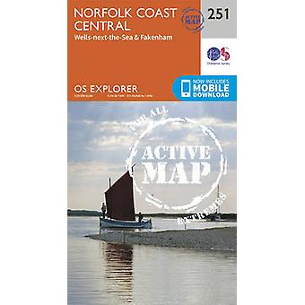 Norfolks kust Central by Ordnance Survey