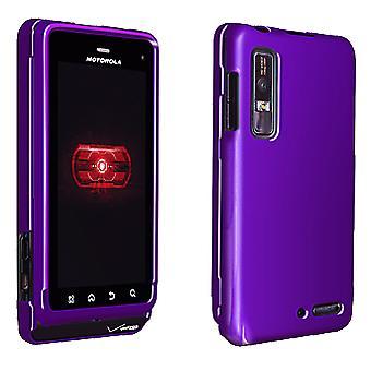OEM Verizon Snap-On Hardcase voor Motorola Droid 2 (paars) (grootverpakking)
