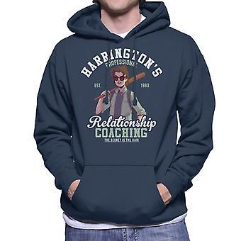 Stranger Things Steve Harringtons Relationship Coaching Men's Hooded Sweatshirt