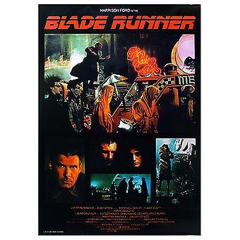 Blade Runner poster collage