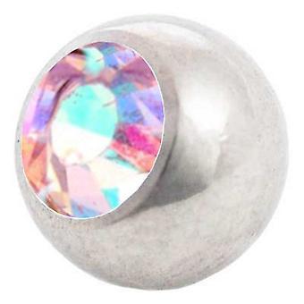 Piercing boule de rechange, aurores boréales | 1, 2 x 3 et 4 mm, bijoux de corps