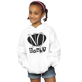 No Doubt Girls Classic Logo Hoodie