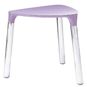 Gedy Yannis Stool Lilac Chrome 2172 79