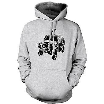 Womens Hoodie - US Army Humvee 50 Cal - Militär