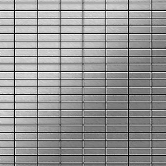 Mosaico de metal sólido Acero inoxidable ALLOY Cabin-S-S-B
