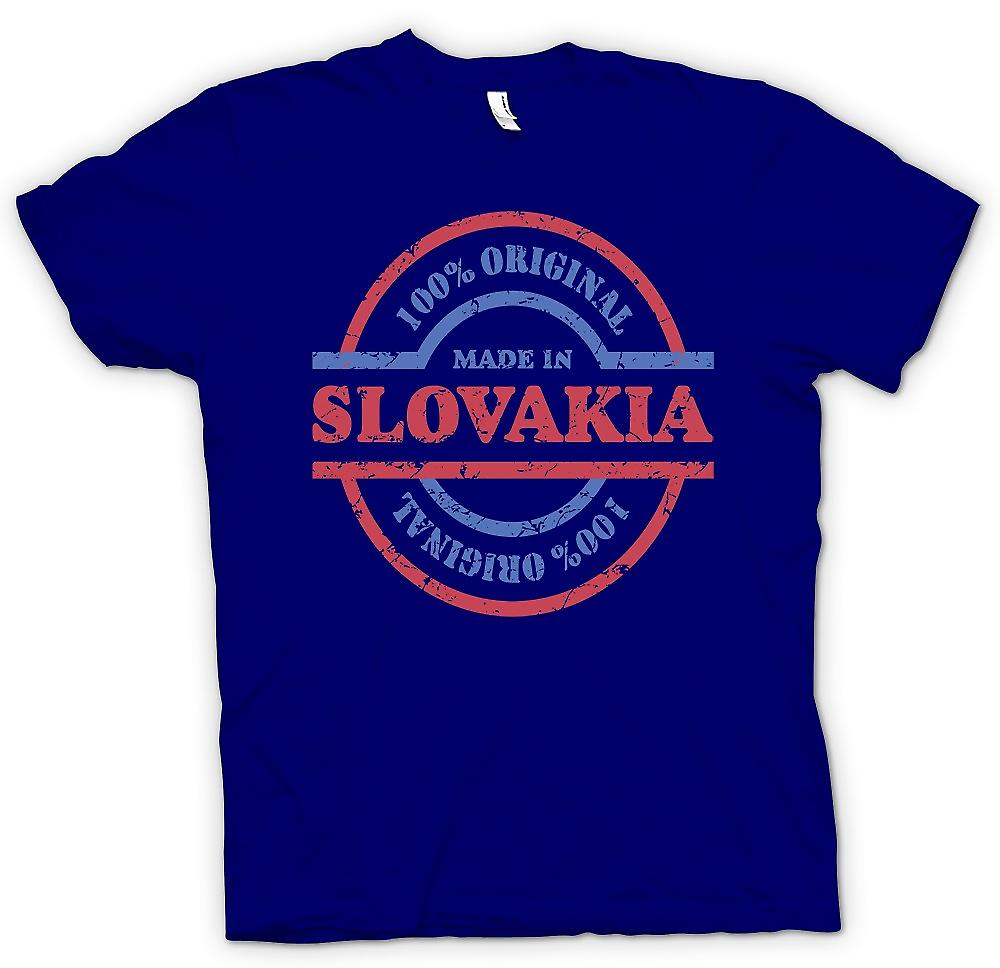Mens T-shirt - 100% Original Made In Slovakia