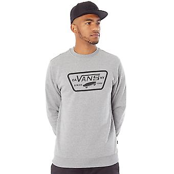 Vans Concrete Heather Full Patch Sweater