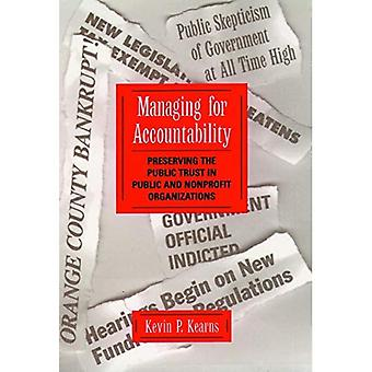Managing Accountability