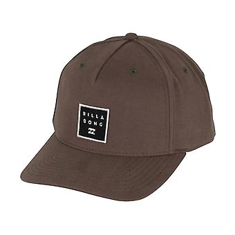 Billabong Men's Snapback Cap ~ Stacked military