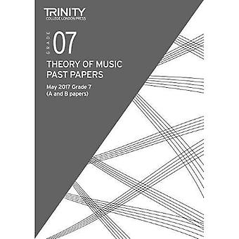 Trinity College London: Past Papers: Theory (May 2017) Grade 7