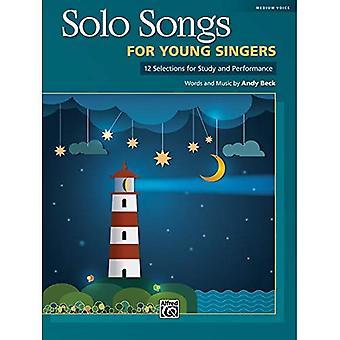 Solosånger för unga sångare: 12 val för studien och prestanda för Mediym röst