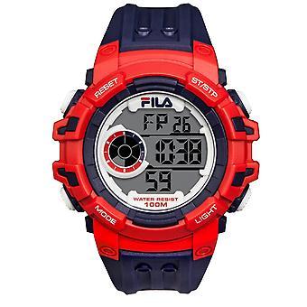 Fila men's watch wristwatch digital sport 38-188-001 silicone