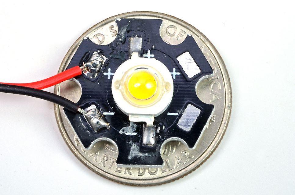 Brickstuff High-Power Warm White LED for the Brickstuff LEGO Lighting System - LEAF01H-WW-1PK