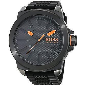 Hugo Boss Orange 1513004 quartz watch for men, silicone band and classic analog display