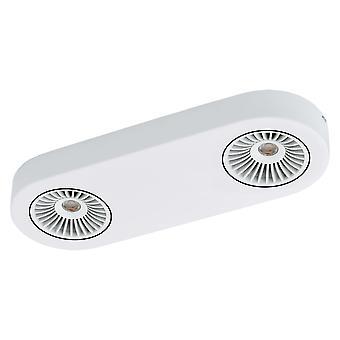 Eglo - Montale LED White Adjustable Twin Spot Light EG94176