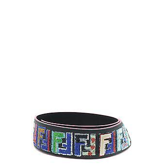 Fendi Multicolor Leather Shoulder Strap