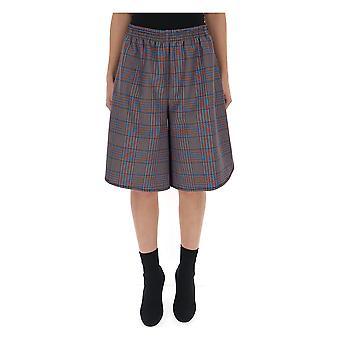 Mm6 Maison Margiela blau Baumwoll-Shorts