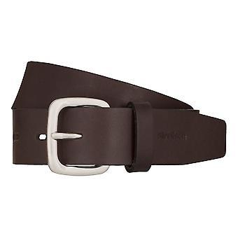 Strellson jeans ceinture homme ceinture vachette ceinture en cuir brun 7919