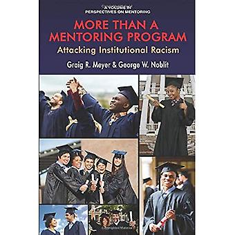 More Than a Mentoring Program: Attacking Institutional Racism (Perspectives on Mentoring)