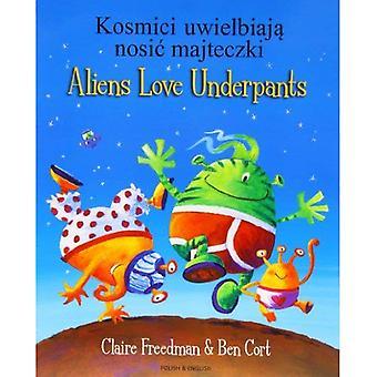 Aliens Love Underpants in Polish & English