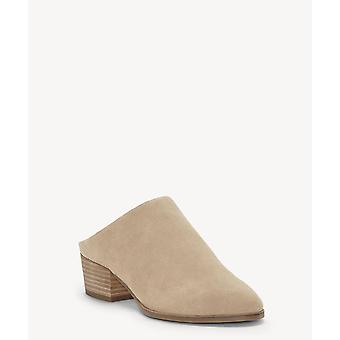 Lucky Brand Womens Glennie Leather Closed Toe Mules